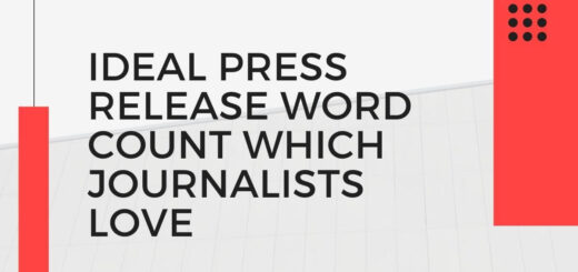 Ideal Press Release Word Count